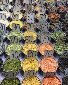 Spice Market was quite a special experience. The spices in the air made it hard to breathe!